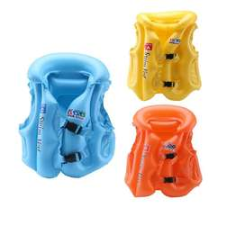 Chaleco inflable para piscina