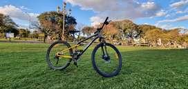 Bicicleta mtb PHILCO Rodado 26 - Doble Suspension - Excelente estado