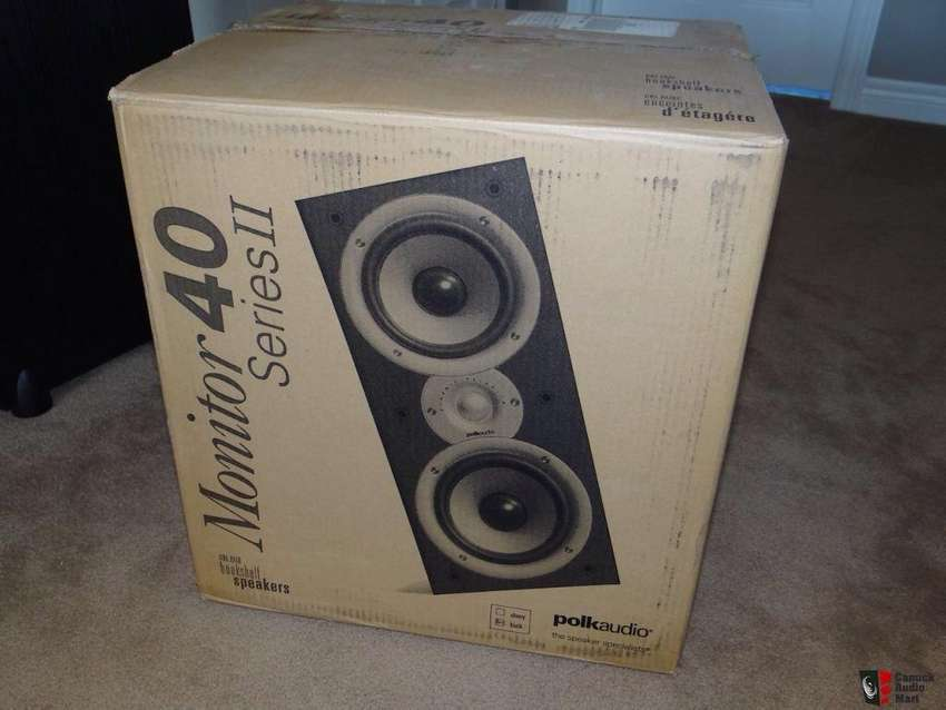 Parlantes Polk Audio Monitor 40 Serie 2,monitores,bafles,yamaha,jbl,jamo,macky,marantz,sansui,pioneer,technics 0