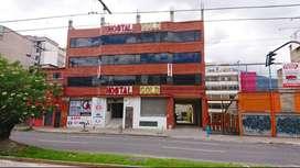 VENDO HOTEL GOLD EN PLENA 10 DE AGOSTO FRENTE A LA PARADA DEL TROLE DEL ESTADIO  | S2