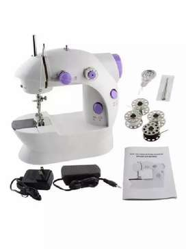 Mini maquina de coser portátil mini sewing machine 4 en 1