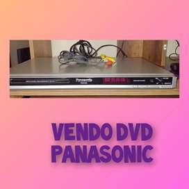 Vendo DVD Panasonic