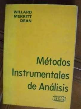 Métodos Instrumentales de Análisis (Willard-Merritt-Dean)