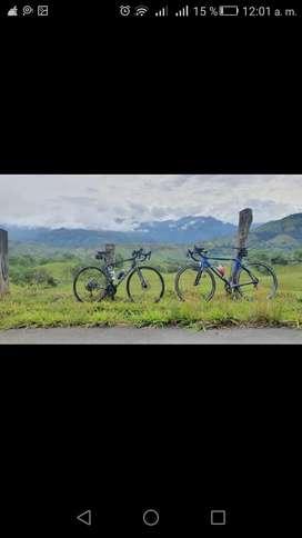 Bicicleta ruta carbono