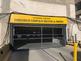 ALQUILO COCHERA EDIFICIO LA MERCED CORDOBA