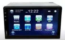 """RADIO BOWMANN DD-5800l +CAMARA REVERSA carro USB BT Dvd MIRROR LINK PANTALLA 7"""" nuevo garantia Scp1"""