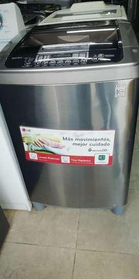 Hoy en venta lavadora LG inverter