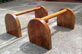 Mini paralelas de madera