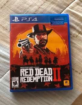Vendo Juego Red Dead Redemption 2 PS4