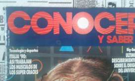 Revista Conocer Y Saber Numero 20 Año 1990