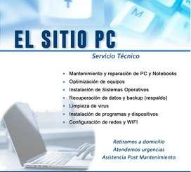 SERVICIO TECNICO Y ARREGLO DE PC