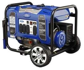 Lleva su Generador portatil doble Voltaje 110/220 V, 6.5 KW.