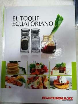 "Libro de recetas ""Toque ecuatoriano"""