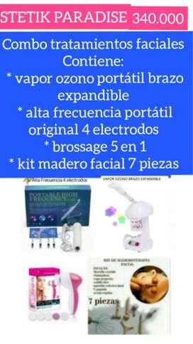 Combo Vapor Ozono, Alta Frecuencia Ofert