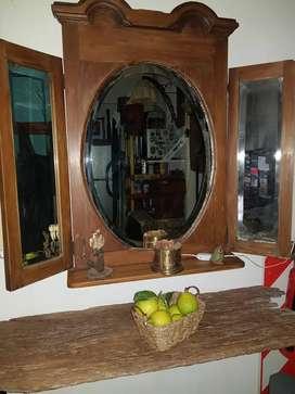 Vendo espejo antiguo vicelado