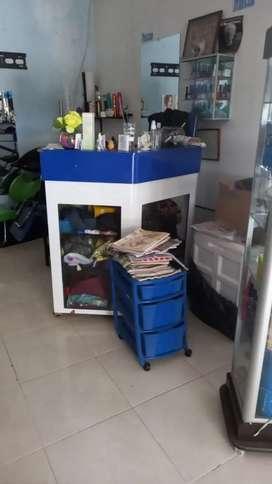 Se venden muebles para sala de belleza (Precio Negociable)