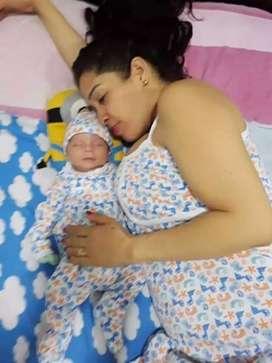 Pijama mama y bebe