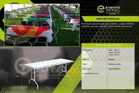 Alquiler de mesas  en  Bogotá