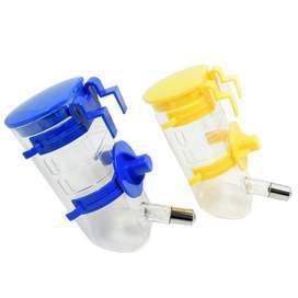 Botella Bebedero Automático Kennel Transportador Jaula