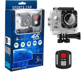Camara Deportiva Ultra HD Sumergible