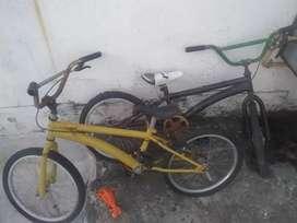 Bicicleta para repuesto