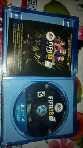 Fifa18 original para PS4