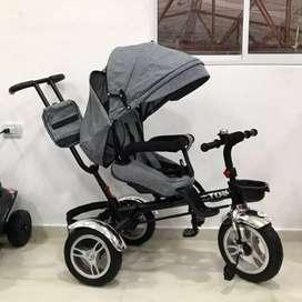 Triciclo coche de edad de 4 meses hasta 6 años