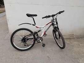 Bicicleta aro 26 doble suspension
