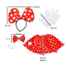 Espectacular Disfraz Ratona accesorios Incluye el envío