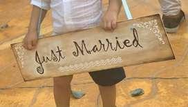 Letreros pajecitos matrimonio