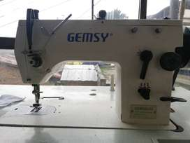 Maquina de coser Zigzadora Gemsy GEM20U, Collarin Siruba C007J y Fileteadora Gemsy GEM757F