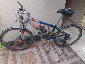 Bicicleta en aluminio venta en Medellín.