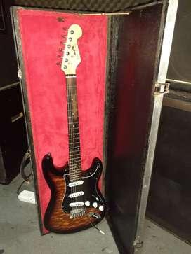 Guitarra Stratocaster Carter Vintage con  Microfonos Wilkinson