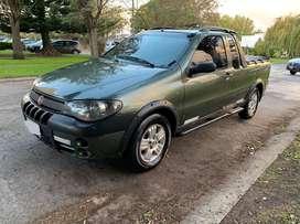 Fiat strada 1.8 con gnc