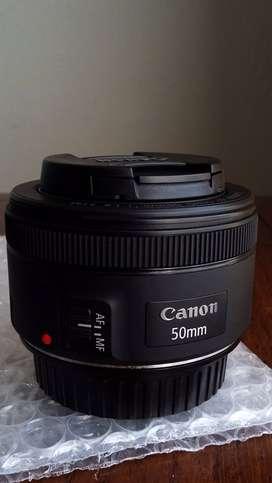 Lente Canon 50mm 1.8 STM