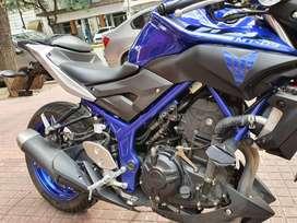 Yamaha Mt03 2017 6 mil Km. Único Dueño. Excelente Estado. CABA. Patentada en Noviembre 2017. Es 321cc pero entrega 42 cv