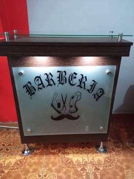 Mueble de barberia nuevo