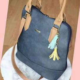 bolso cartera bolsos mujer dama ilusion of time savage negro azul cuero