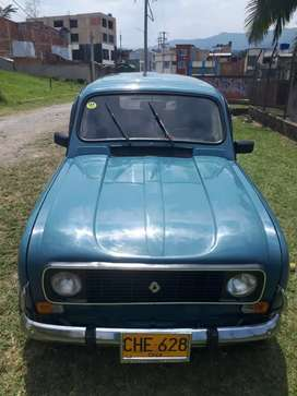 Renault 4 lider en excelente estado