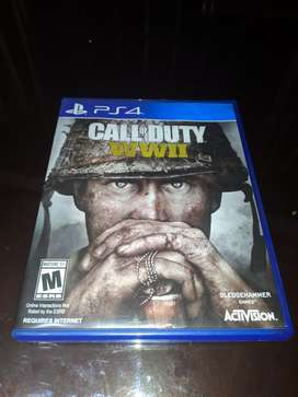 Call Of Duty Ww2 Juego Ps4