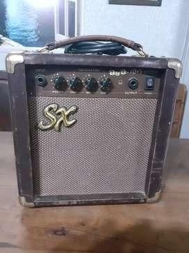 Amplificador Eléctrico Sx.10W Guitarra Acustica