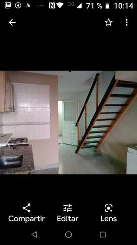 Alquilo, Duplex,dos habitaciones