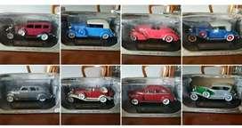 Vendo carros colección en su caja, sin abrir.