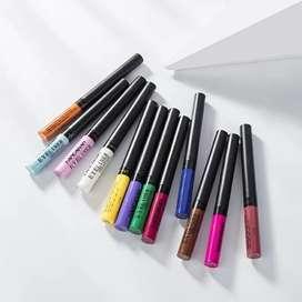 Set de 12 delineadores de colores