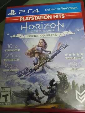Vendo juego nuevo original HORIZON EDICION COMPLETA  para play station 4