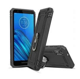 Estuche Protector Armor Ring Motorola Moto E6
