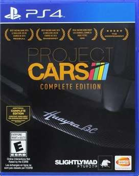 Project Cars Complete Edition Ps4 Juego Playstation 4 Usado Fisico
