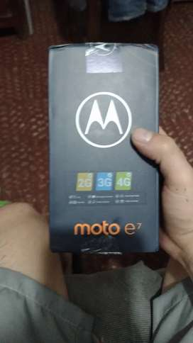 Celular MOTO E7 -32GB Azul Bluebird