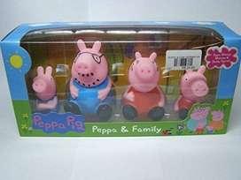 peppa pig la cerdita y familia juguete set pepa