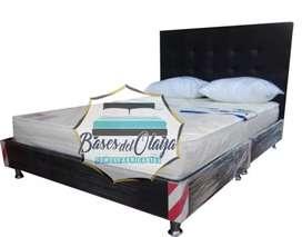 Basecama espaldar colchon almohadas envio  519900